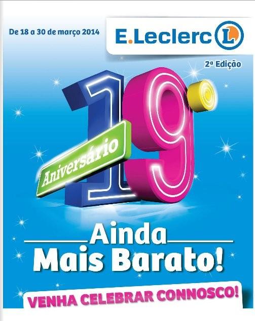 Antevisão Novo folheto | E-LECLERC | de 18 a 30 março, Nacional