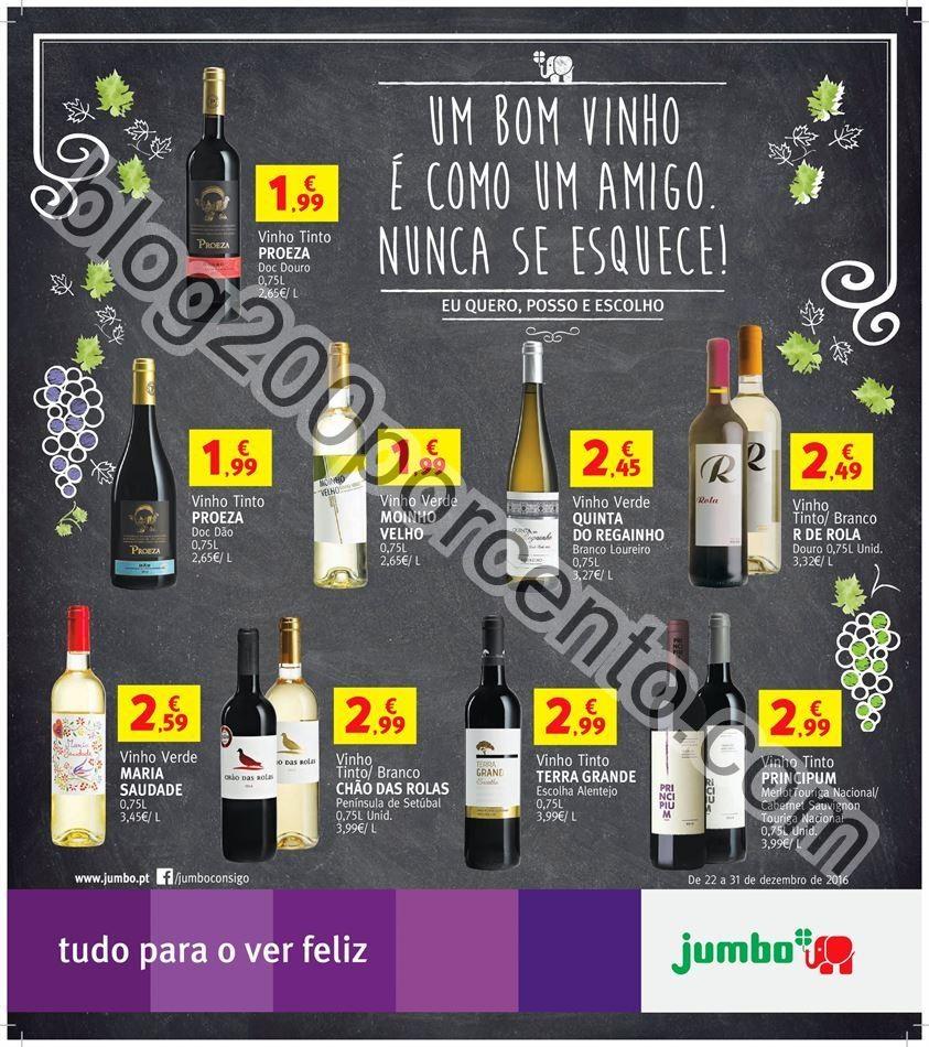 Antevisão Folheto Extra JUMBO Promoções de 22 a