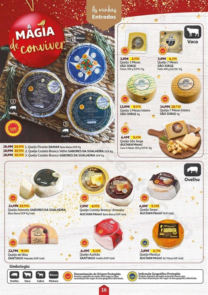 Antevisão Folheto AUCHAN Magia Natal Promoções