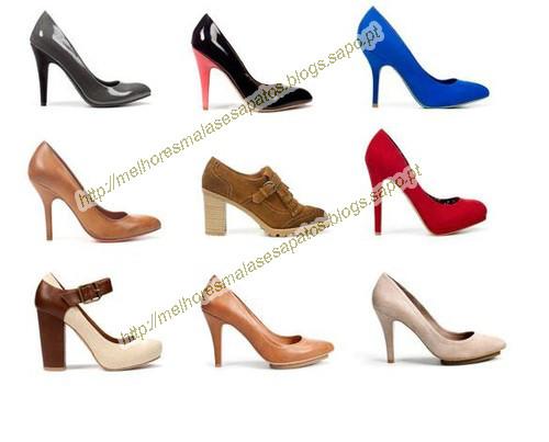 Em cima da esquerda para a direita  Sapato Dois Tons 25 be6ac6edd09