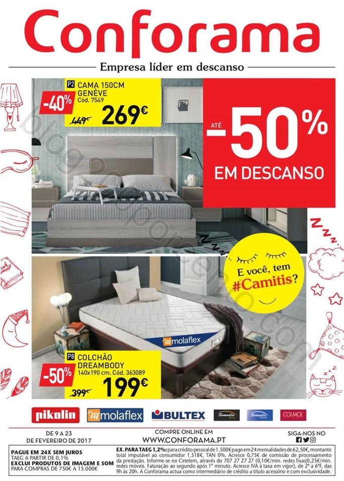 Novo Folheto CONFORAMA promoções de 9 a 23 fever