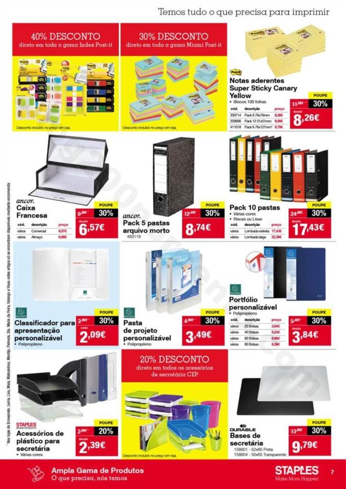 Antevisão Folheto STAPLES Promoções de 2 a 14 n