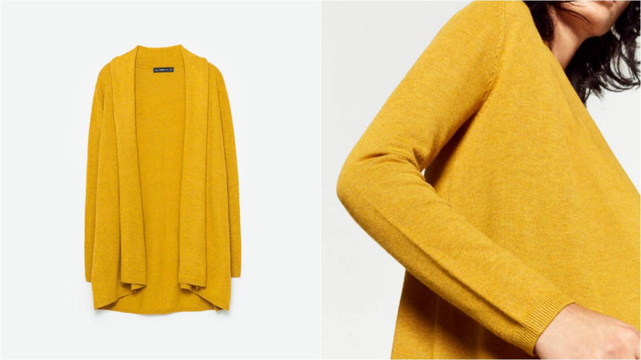 Weekend pleasure | casaco mostarda