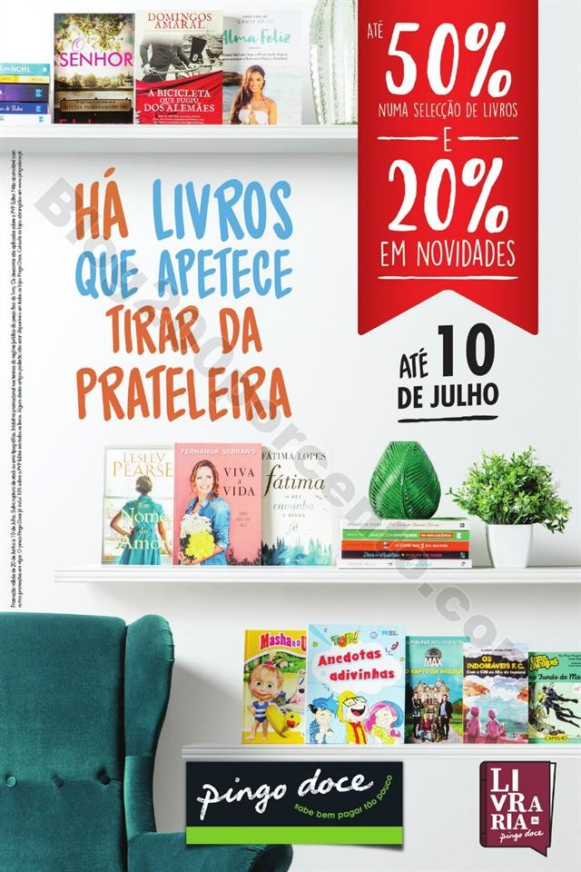 Antevisão Folheto PINGO DOCE Bazar Livros Promoç