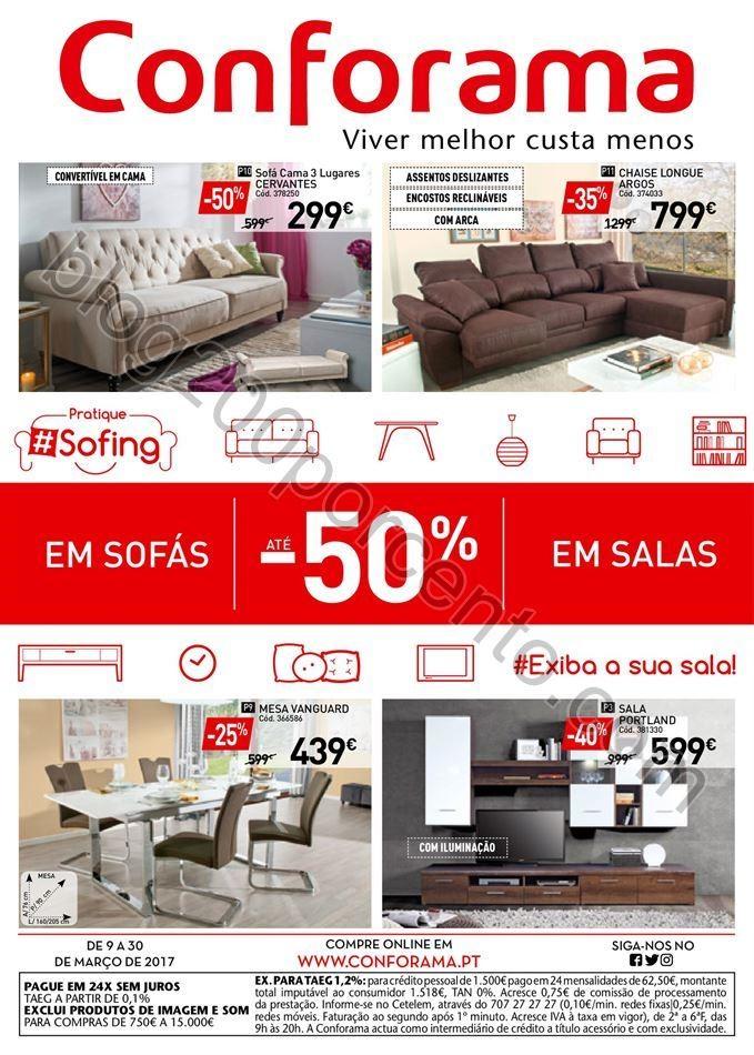 Antevisão Folheto CONFORAMA Nacional Promoções