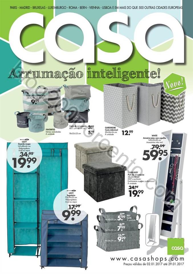 Antevisão Folheto CASA Promoções de 2 a 29 jane