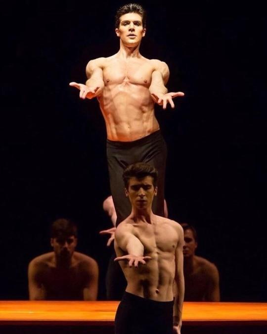 Roberto Bolle and Francesco Mascia - Teatro alla S