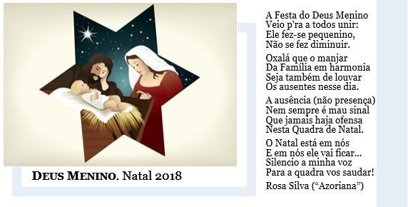 Deus Menino 2018
