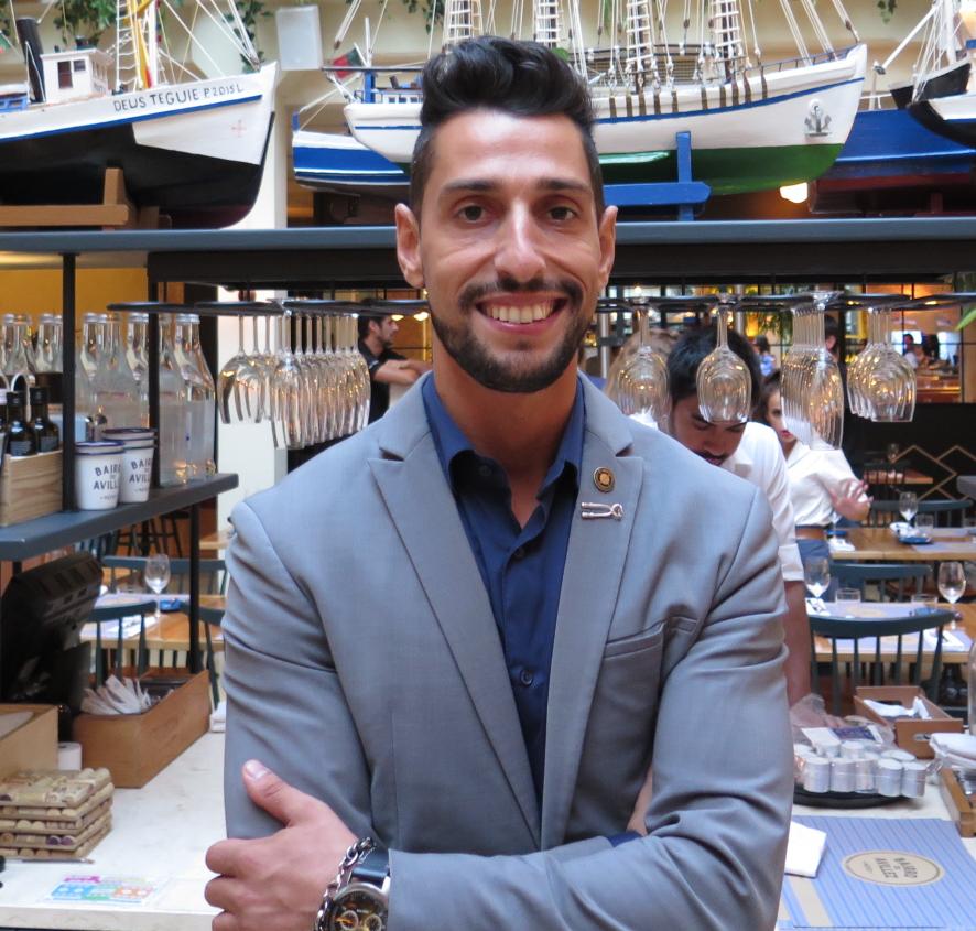 António Lopes, o escanção anfitrião do Gourmet Culinary Extravaganza