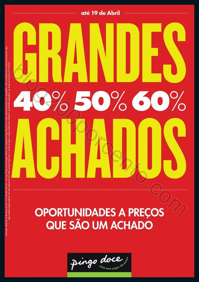Antevisão Folheto PINGO DOCE Grandes Achados prom