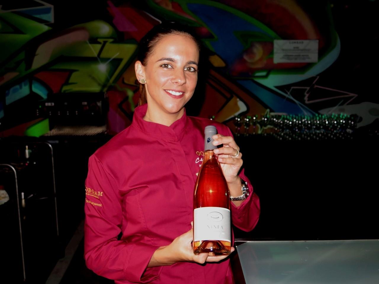 Teresa Barbosa e o Ninfa rosé 2015