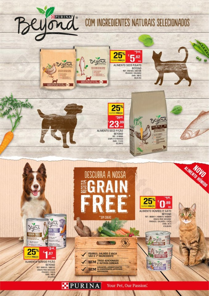Antevisão Folheto Continente Especial Pets 18a25 mar