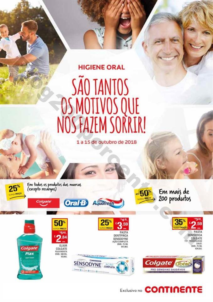 Antevisão Folheto Continente higiene oral 1 a 15
