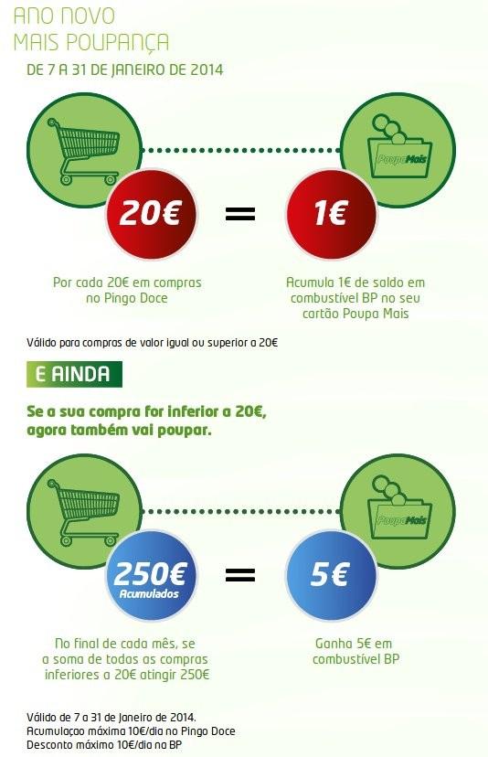 Poupa mais | PINGO DOCE / BP | de 7 a 31 janeiro