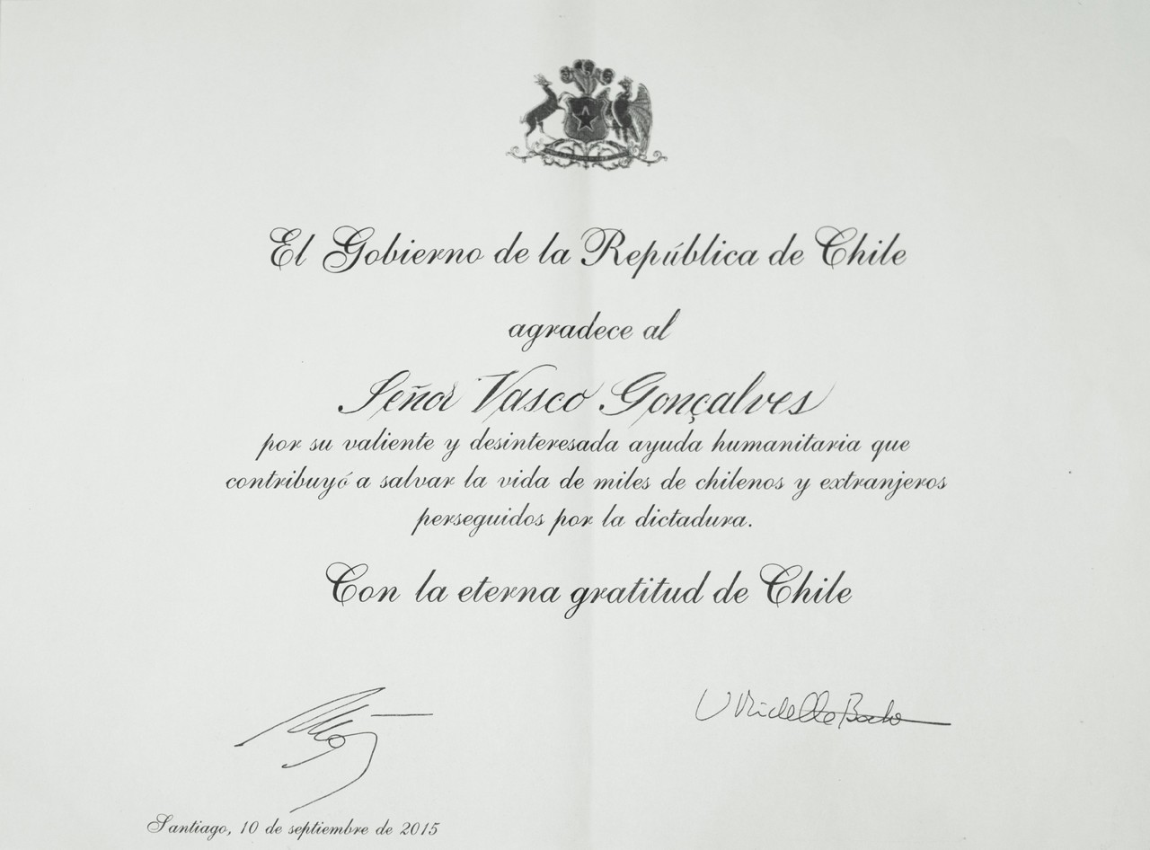 Governo Chileno-Vasco Gonçalves