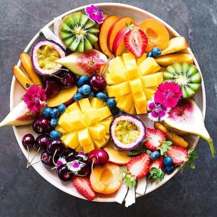 APETECIA-ME ISTO | um prato de frutas