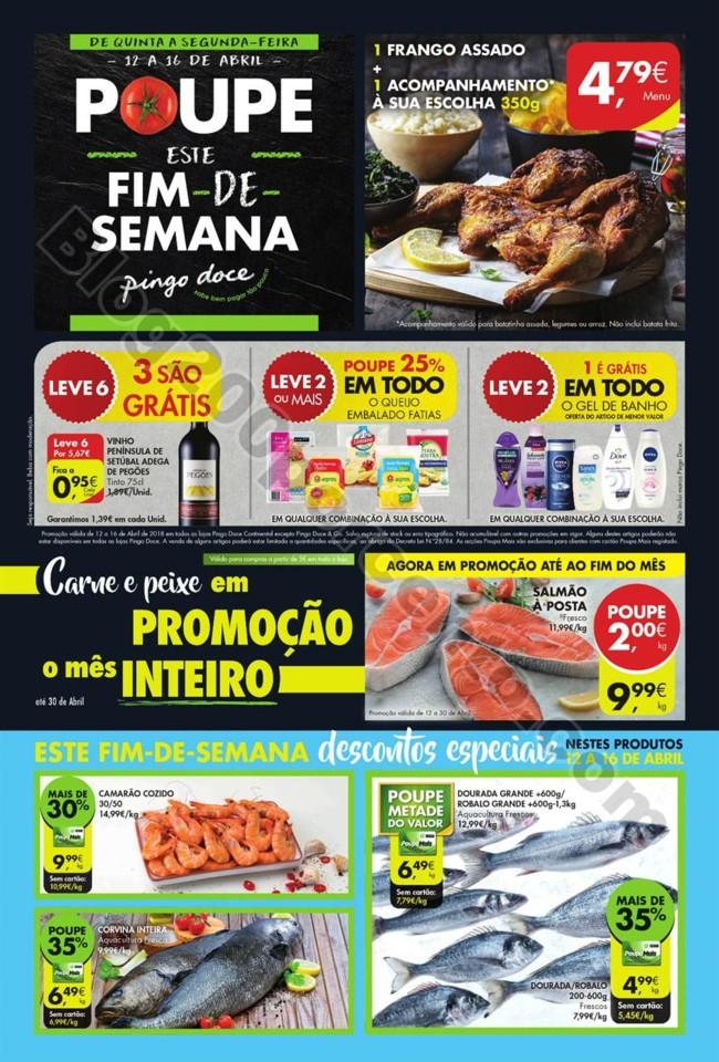 Antevisão Folheto PINGO DOCE Fim de semana - 12 a