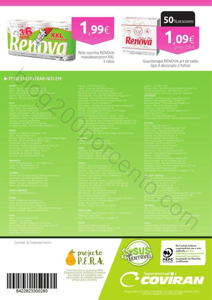 Antevisão de folheto COVIRAN promoções de 14 a