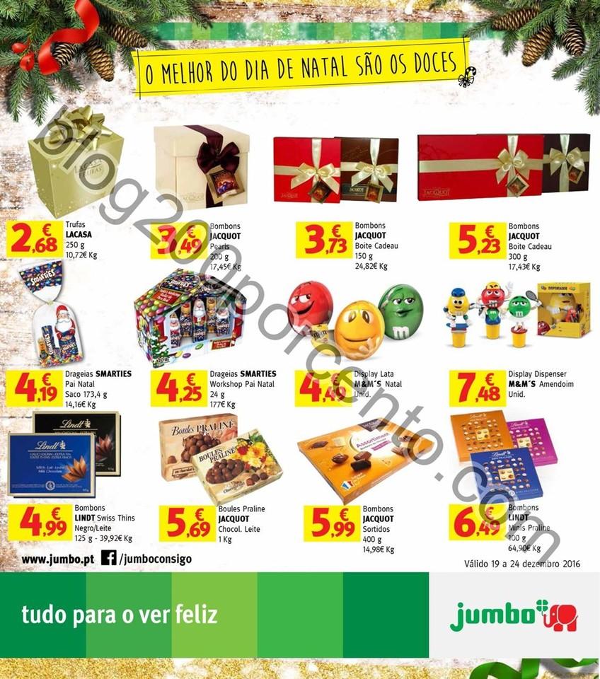 Novo Folheto JUMBO Doces, promoções de 19 a 24 d