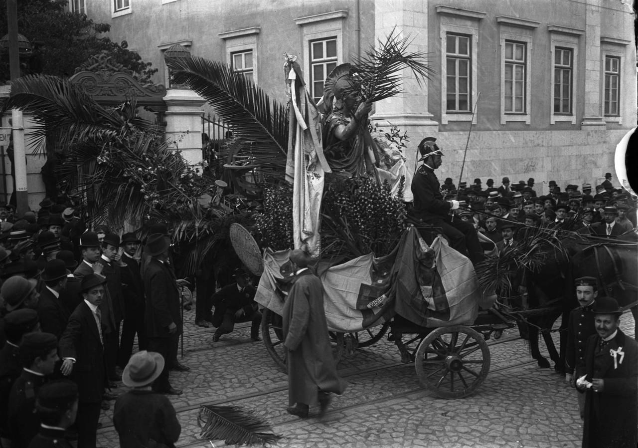Carnaval, carro alegórico, Rua da Escola Politéc