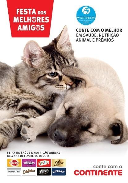 Novo Folheto | CONTINENTE | de 4 a 16 fevereiro - Feira animal