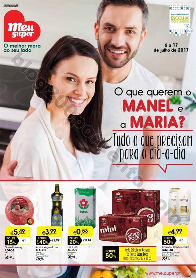 Antevisão Folheto MEU SUPER Promoções de 6 a 17