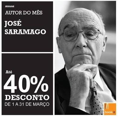 Autor do mês - desconto de 40% | BOOK.IT | José Saramago