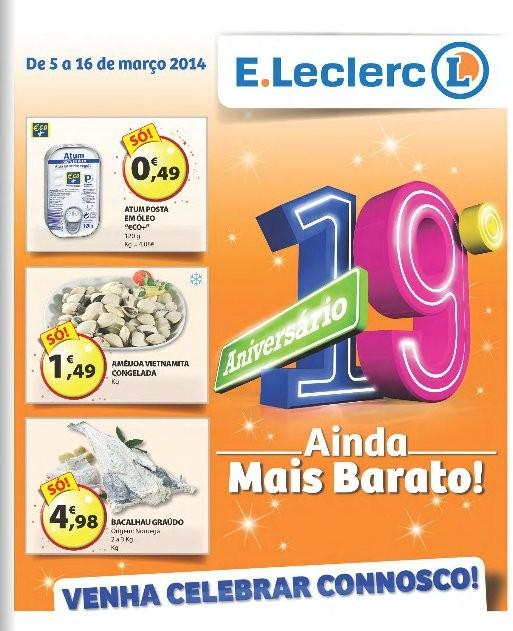 Antevisão folheto   E-LECLERC   Nacional de 5 a 16 março