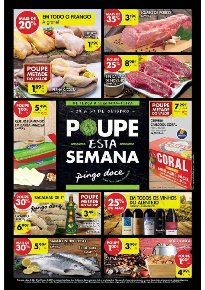 Antevisão Folheto PINGO DOCE Madeira Promoções