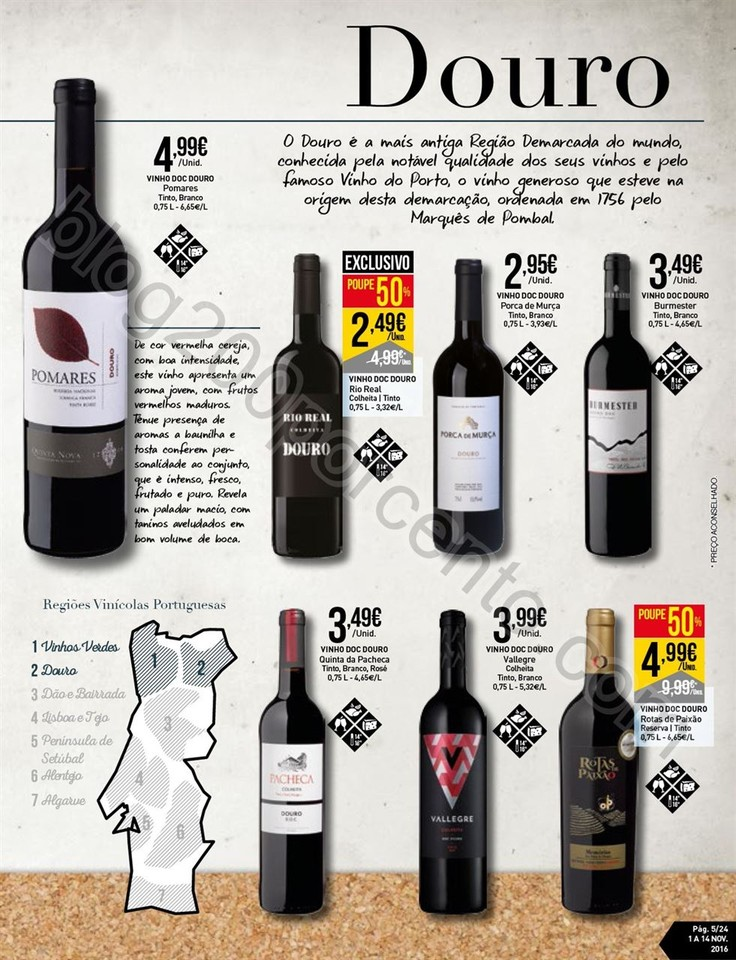 Antevisão Folheto INTERMARCHÉ Vinhos promoções