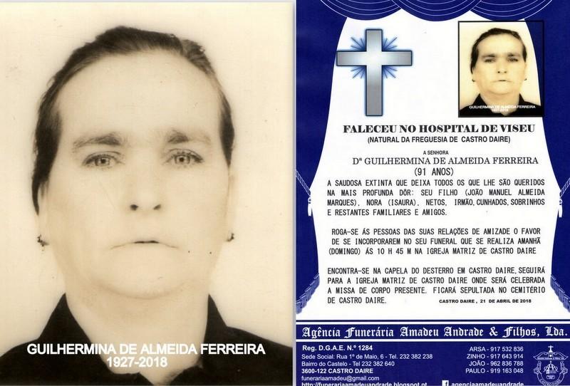 FOTO E RIP DE GUILHERMINA DE ALMEIDA FERREIRA-91 (