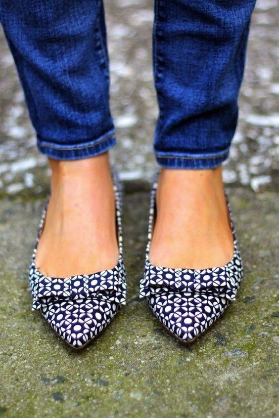 Os sapatos rasos que não pode perder neste verão (Foto: Pinterest) - Moda & Style