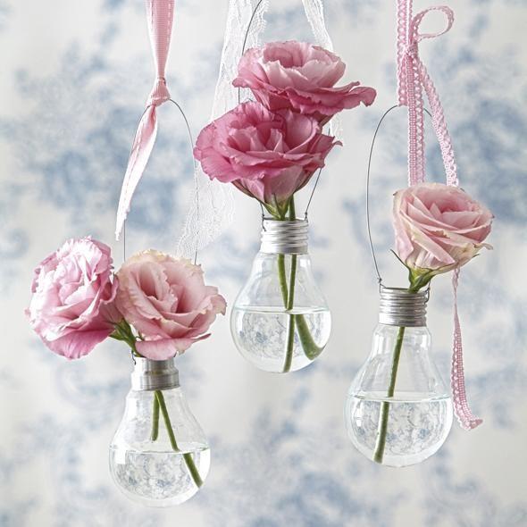 Fazer vasos com lâmpadas