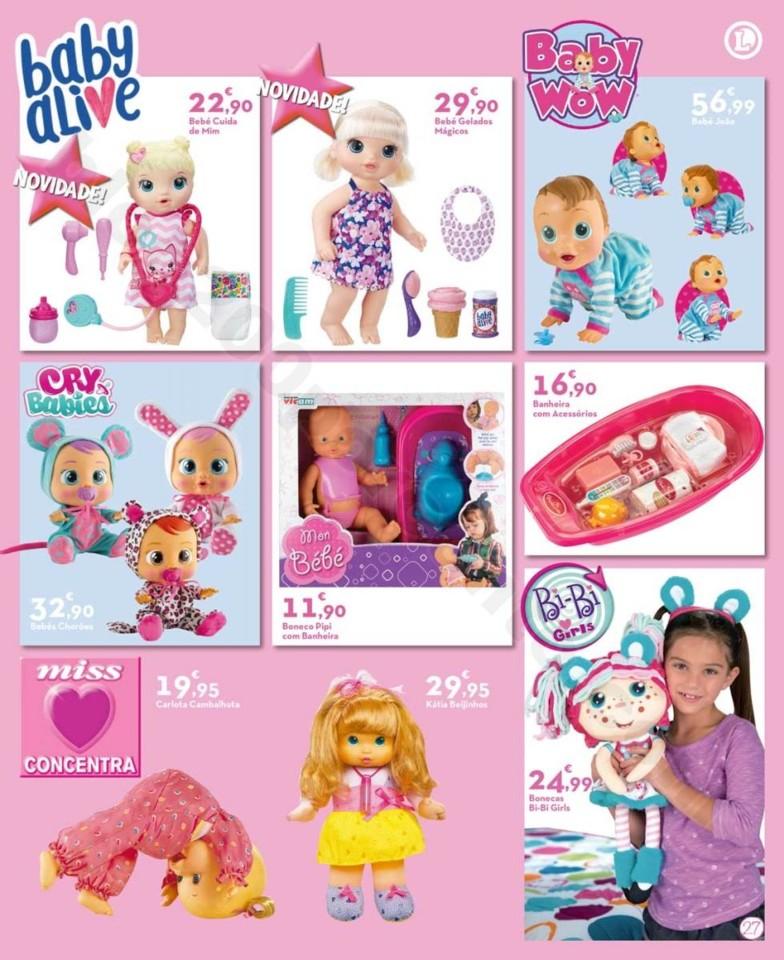 Antevisão Folheto Brinquedos E-LECLERC Promoçõe