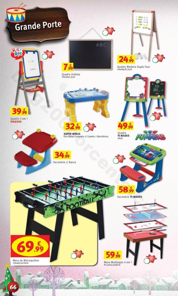 Antevisão Folheto JUMBO Brinquedos Natal promoç