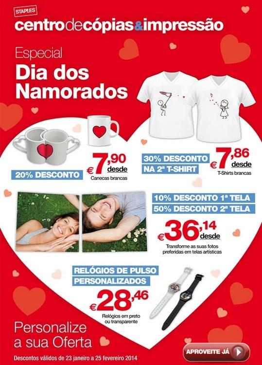 Dia dos namorados | STAPLES | Promoções até 25 fevereiro