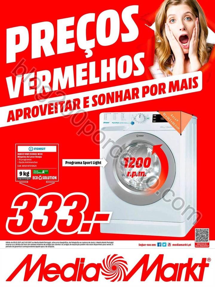 Antevisão Folheto MEDIA MARKT Promoções de 5 a