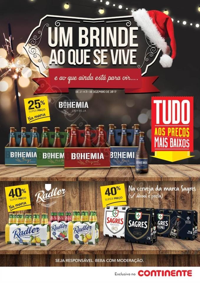 Antevisão Folheto CONTINENTE Extra Cervejas promo