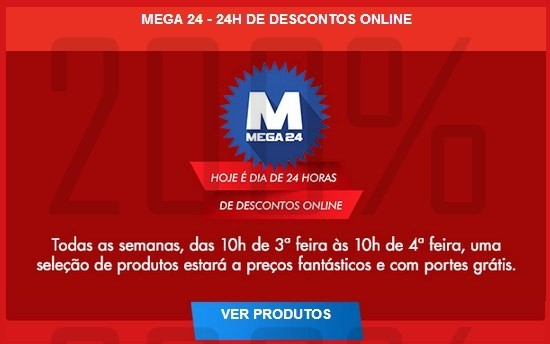 Promoção Mega24   WORTEN   até 26 março