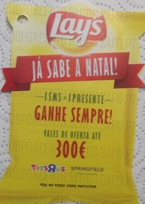 Campanha de Natal | MATUTANO / LAYS |, Vales até 300€