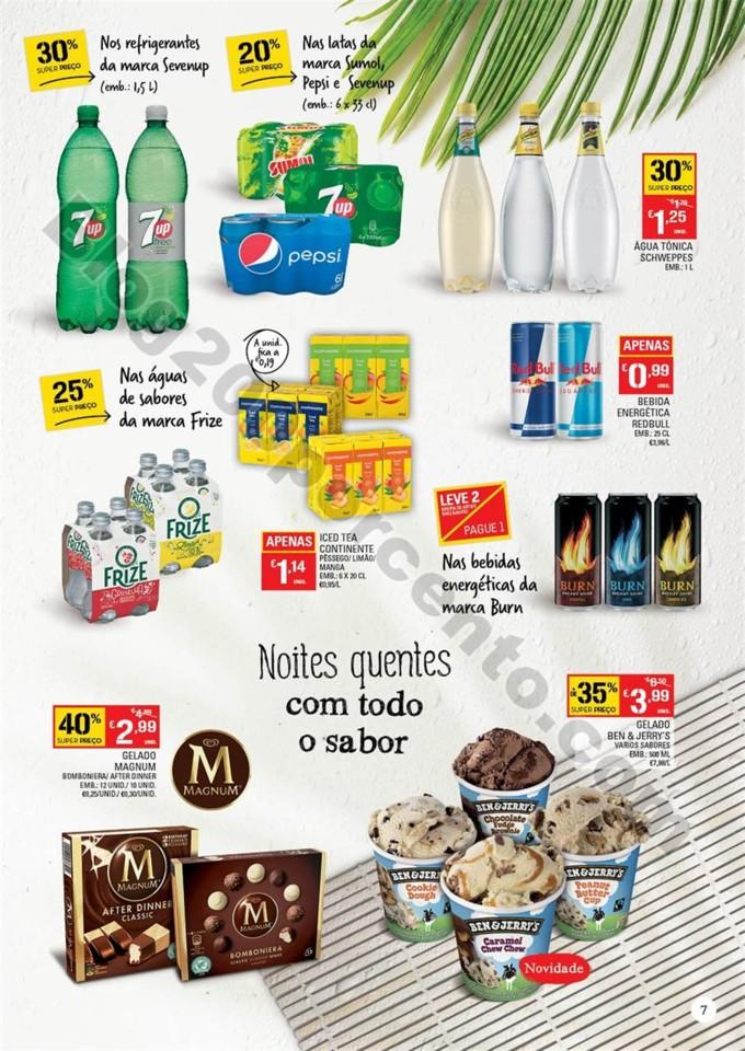 Antevisão Folheto CONTINENTE Bebidas e Gelados 26
