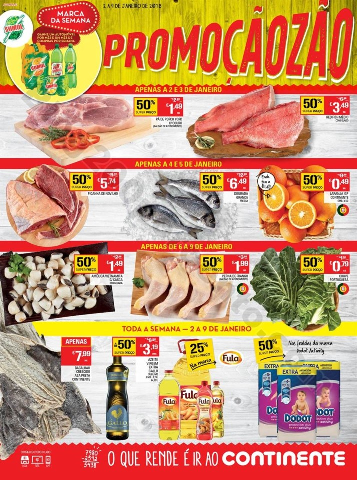 Antevisão Folheto CONTINENTE Madeira Promoções