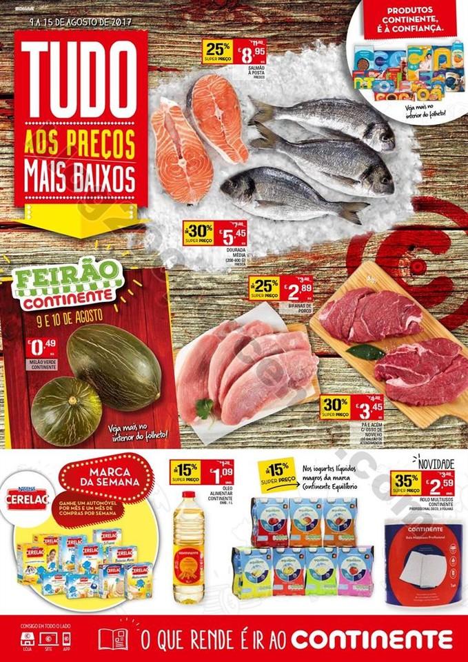 01 antevisão Folheto Continente Madeira 9 a 15 ag