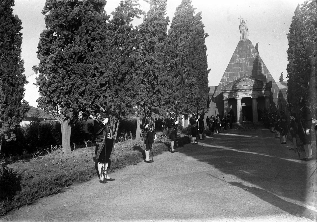 Funeral da 3ª Duquesa de Palmela, Maria Luísa de