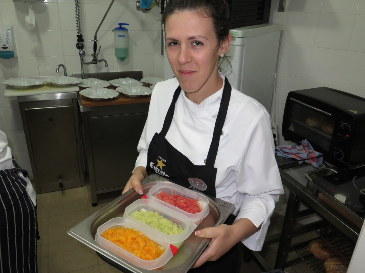 Chef pasteleira Nadia Carrasco