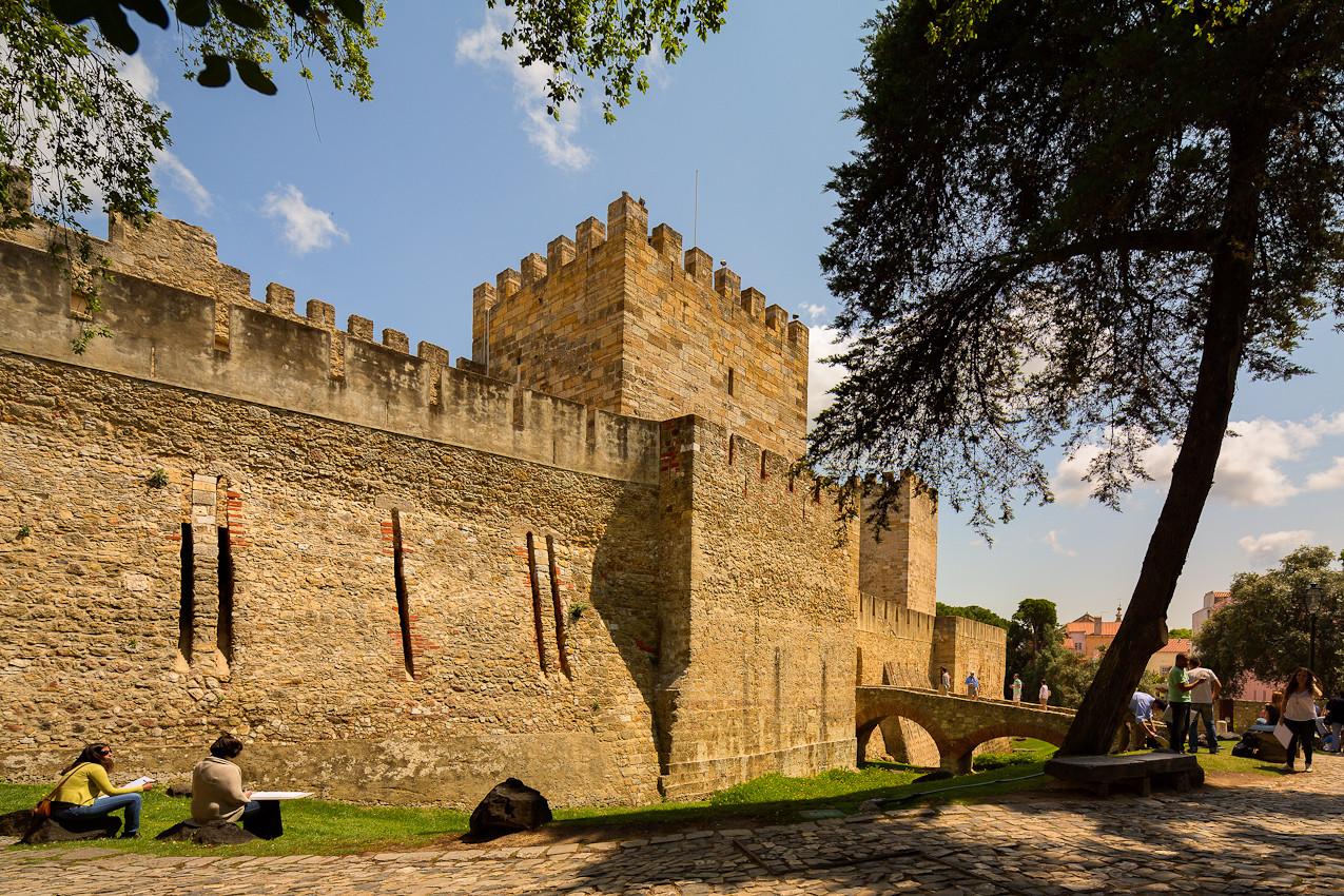 Castelo de São Jorge Domingos em Família