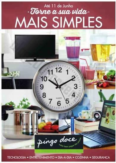 Novo folheto PINGO DOCE - Torne a vida mais simples - até 11 junho