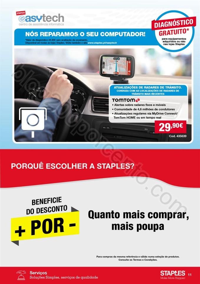 Antevisão folheto STAPLES Promoções de 20 outub