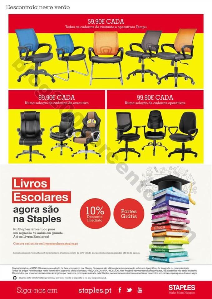 Antevisão Folheto STAPLES Promoções de 19 a 25