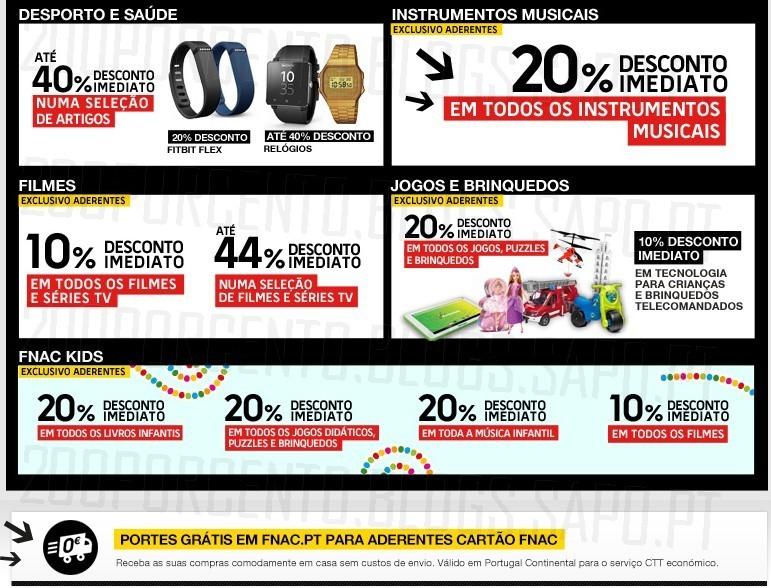 Flash Sales | FNAC | Dia 6 dezembro
